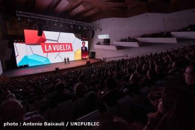 コース発表会は来年開幕地となるアリカンテで行われた(photo : Antonio Baixauli / UNIPUBLIC)