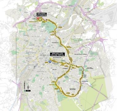 第2ステージのコース (MAP : ASO)