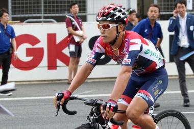 15位、日本人最上位でフィニッシュした岡「思ったよりも上れた」と話した