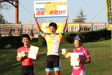 1年間、サイクルスポーツ本誌の連載権利を手に入れた岩島