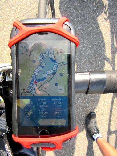 スマートフォン・タブレット向けサイクリングアプリ『BIWAICHI Cycling Navi』でさまざまなスポットを確認できる
