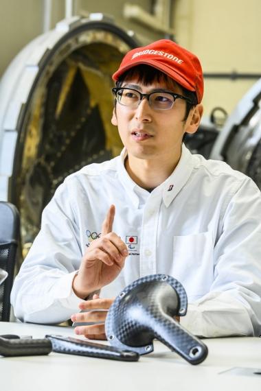 ブリヂストンサイクル レース機材設計課 濱田和優