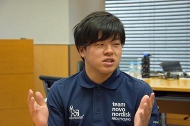 名門・鹿屋体育大で自転車競技部に所属する予定の田仲駿太選手