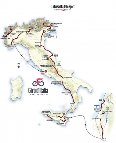 MAP : RCS Sport