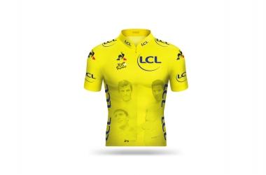 ●第11ステージのマイヨ・ジョーヌ(ツール・ド・フランス5回優勝限定クラブのメンバー4人)