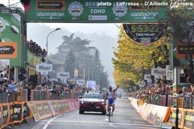 昨年のイル・ロンバルディアはフランスのピノーが優勝した