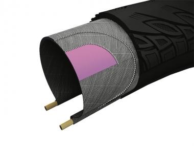 優れた対パンク性能を持つプロテクションテクノロジー「K2 ケブラー コンポジット」