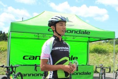 ミスター・スレートことキャノンデール・ジャパンの山本和弘さん。通称「カズさん」だ