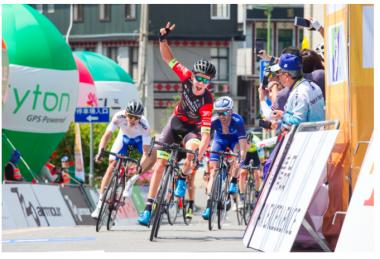 ツール・ド・台湾2018 第2ステージで優勝したロビー・ハッカー選手