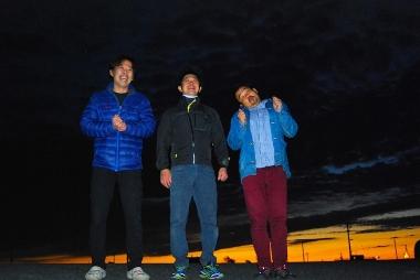 サイクルパンチを運営する3名、左から自転車道の今村店長・アクセルの加藤店長・TWO CYCLEの樋口店長