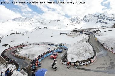 第13ステージは雪が残る山を上ることができた