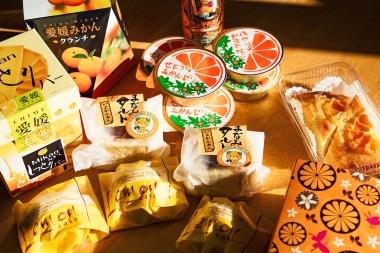 各道の駅では柑橘スイーツもずらり。補給食にもピッタリなものも多数あり、どれを食べようか嬉しい悲鳴をあげてしまう