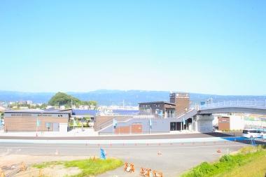 道の駅外観。今後ここを拠点として伊豆のeバイクネットワークが広がっていくことになる