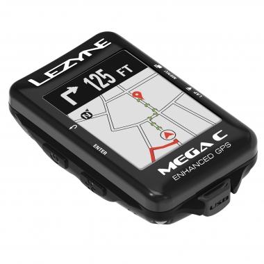 カラーモデルの「メガC GPS」は、各種数値の表示だけでなくマップのナビにおいてもカラー表示で視認性がより向上