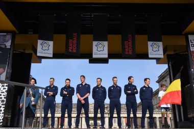 前日にはコンピエーニュでチームプレゼンテーションが開催された
