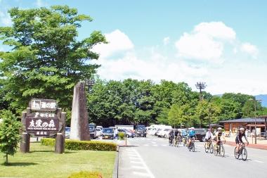 道の駅「那須高原親愛の森」がスタート&ゴール地点