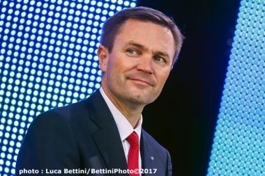 フランス人のラパルティアン新会長 (photo Luca Bettini/BettiniPhoto©2017)