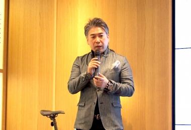 発表会ではパナソニックサイクルテック代表取締役社長である片山栄一氏より、パナソニックグループ全体の戦略などが説明された