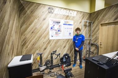 プロ選手も認めたワイズロード独自開発のフィッティングシステム「バイオレーサー5000」を展開(予約制)