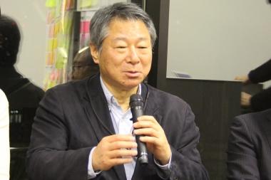 NPO自転車活用推進研究会の小林成基理事長