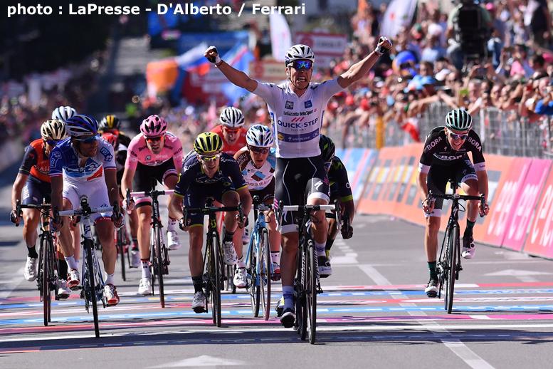 ジロ・デ・イタリア第15ステージは総合上位陣のゴールスプリントを ...